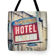 Chicago's Irving Hotel Tote Bag