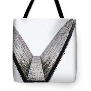 Upward Wedge Tote Bag