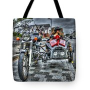 Ural Wolf 750 And Sidecar Tote Bag