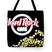 Urban Abstract Hard Rock Cafe Tote Bag by Dan Sproul