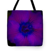 Urban Art Hibiscus II Tote Bag