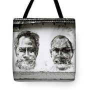 Urban Art In Cochin Tote Bag