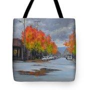 Urban Autumn Tote Bag