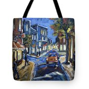 Urban Avenue By Prankearts Tote Bag by Richard T Pranke