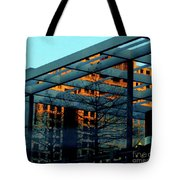 Urban Blue Tote Bag