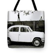 Urban Calcutta Tote Bag