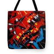Urban Communication Tote Bag