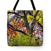 Urban Cottage Tote Bag