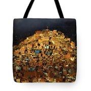 Urban Cross 1 Tote Bag