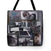 Urban Decay Engagement Collage Tote Bag