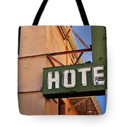Urban Decay In Hollywood Tote Bag
