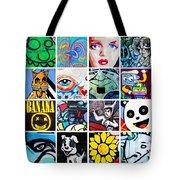 Urban Faces Tote Bag
