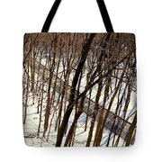 Urban Forest At Dusk Tote Bag