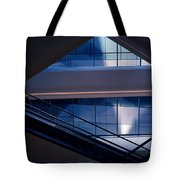 Urban Geometry Tote Bag