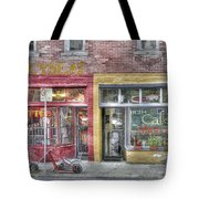 Urban Mercyseat Oil Painting Tote Bag