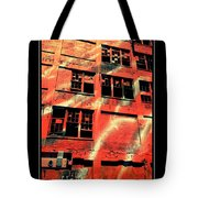 Urban Orange Tote Bag