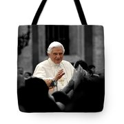 Urban Roman Street With Pope Tote Bag
