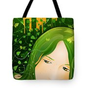 Urban Rosebudd Tote Bag by Sandra Hoefer