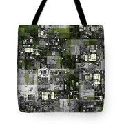Urban Scene Going Green Tote Bag