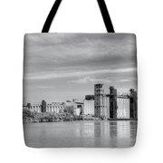Urban Scene Tote Bag