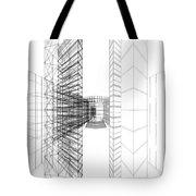 Urban Skyscrapers Tote Bag by Nenad Cerovic