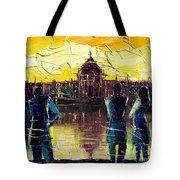 Urban Story - Hotel-dieu De Lyon Tote Bag