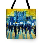 Urban Story - The Romanian Revolution Tote Bag