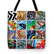 Urban Street Art Tote Bag