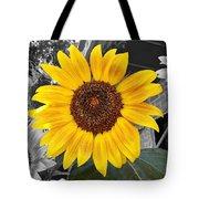 Urban Sunflower Tote Bag