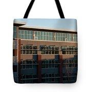 Urban Sunrise Glow Tote Bag