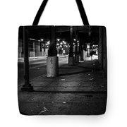 Urban Underground Tote Bag