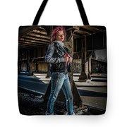 Urban Underworld Tote Bag