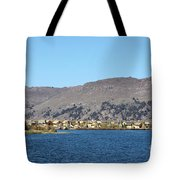 Uros Floating Island Village Tote Bag