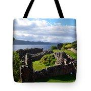 Urquhart Castle Ruins Tote Bag