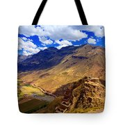 Urubamba River Tote Bag