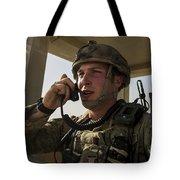 U.s. Air Force Soldier Communicates Tote Bag
