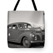Us Army Dodge Staff Car Tote Bag