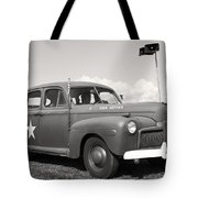 Us Army Ford Staff Car  Tote Bag