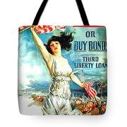 Fight Or Buy Bonds Tote Bag