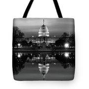 U.s. Capitol Building & Reflecting Tote Bag