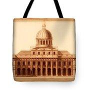 U.s. Capitol Design 1791 Tote Bag