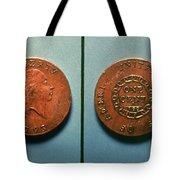 U.s. Coin, 1793 Tote Bag