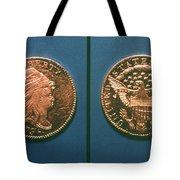 U.s. Currency, 1796 Tote Bag