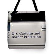 U.s. Customs And Border Protection Tote Bag