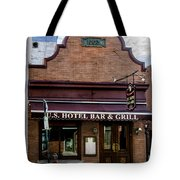 Us Hotel Bar And Grill - Manayunk  Tote Bag
