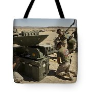 U.s. Marines Assemble A Support Wide Tote Bag
