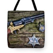 Us Marshall - American Justice - Cowboy Tote Bag