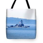 U.s. Navy Ship Tote Bag