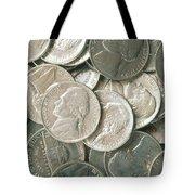 U.s. Nickels Tote Bag