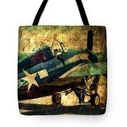 Us Ww II Grumman F4f Wildcat Fighter Plane Tote Bag